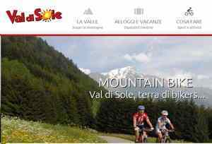 Itinerari italiani: mountain bike in val di sole
