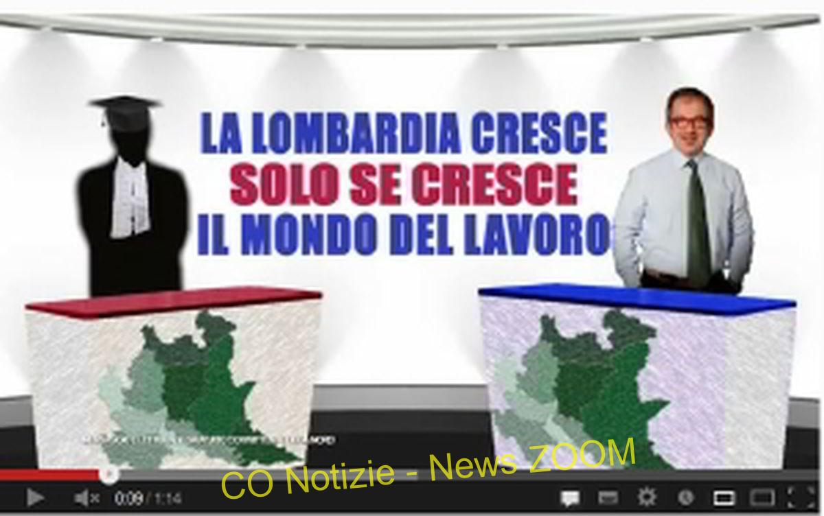 Campagna elettorale Lombardia. Maroni e Ambrosoli, furore video web Politica Prima Pagina %Post Title, %Image Name, %Post Category