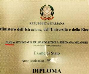A Pregnana Milanese per errore i ragazzi delle Medie si diplomano a suola