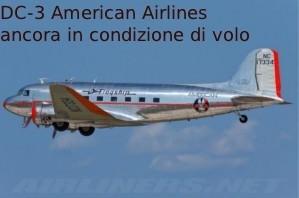 Un DC3 della american Airlines
