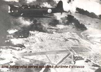 PerlHarbour: un foografia scattata durante l bombardamento
