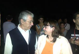 Ilaria Preti e umberto Bossi, a Castano Primo 2014