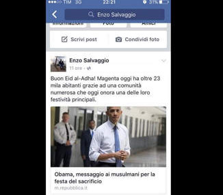 Magenta, l'Ass salvaggio imita obama