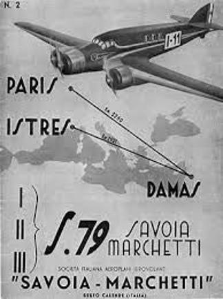 Parigi Isters Damasco, gara piloti militari