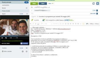email Politica - Venegoni manda una email. I clandestini alle associazioni? 26/05/2017