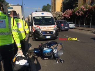 Incidente in via Mugello. Motociclista perde un piede 2 02/07/2020 Cronaca Milano incidente