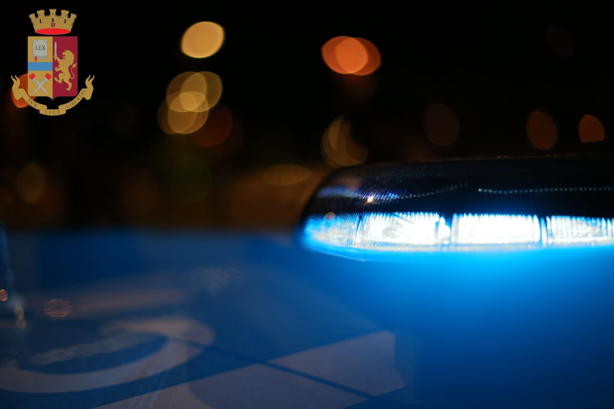 Auto della polizia.  Delitto quasi perfetto?