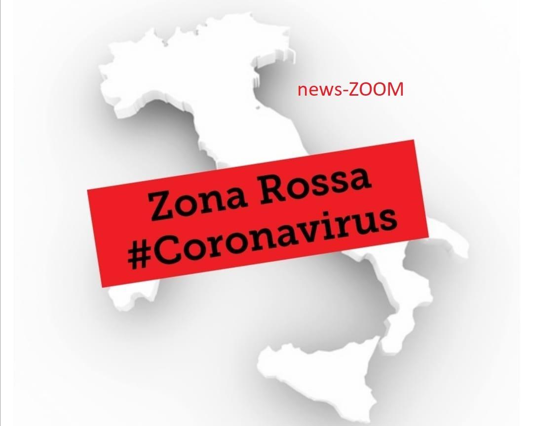 coronavirus italia zona rossa