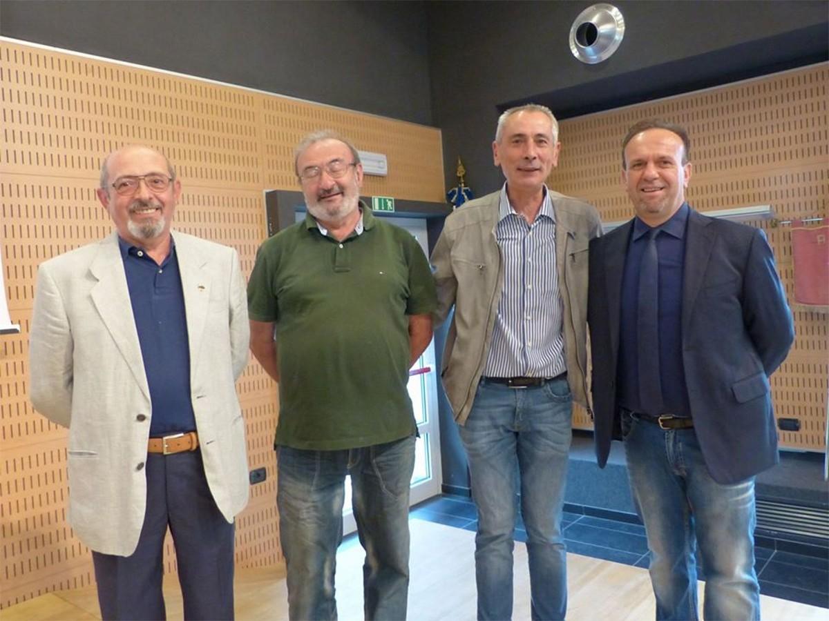 Pierluigi Gussoni, Luigi dell'Acqua, Adelio Bellusco,