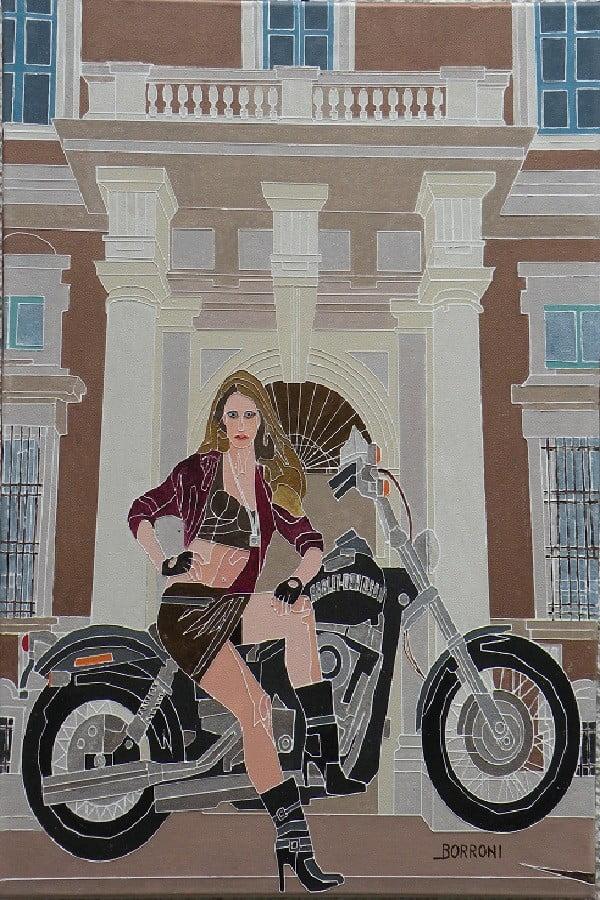 """colore Arte - Le opere pittoriche di Sandro Borroni. La """"blindatura"""" del colore 03/03/2021"""