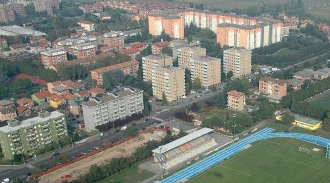 Vista delle 5 torri del quartiere Sant'Eusebio, a Cinisello Balsamo