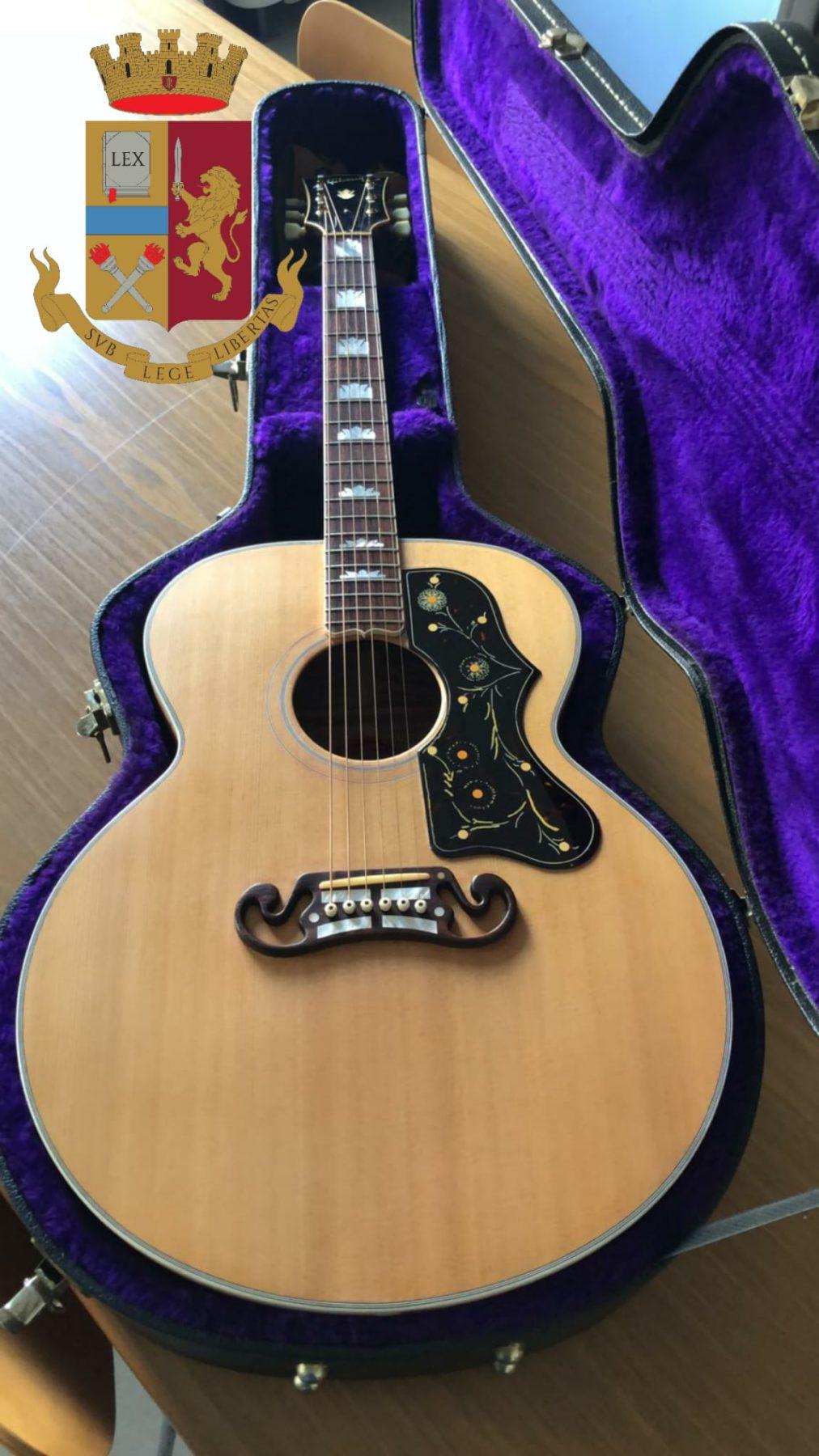 la chitarra di Elvis Presley