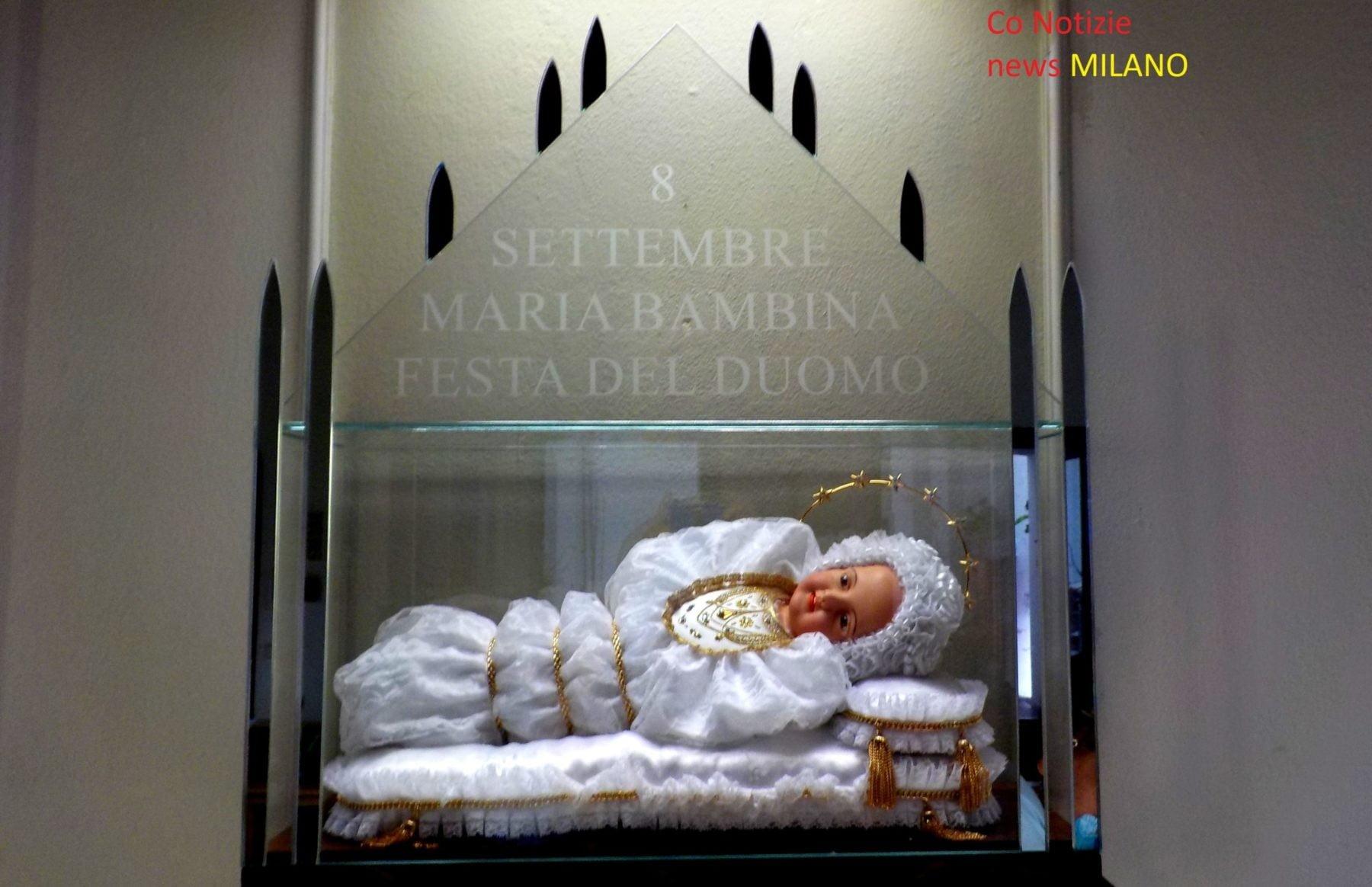Corbetta - Nella parrocchia di Cerello, Corbetta, arriva Santa Maria Bambina 13/09/2020
