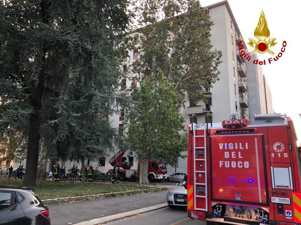 esplosione piazzale Libia Milano 3