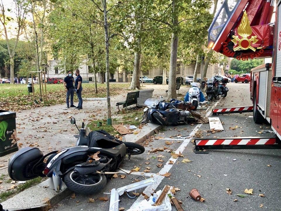 esplosione piazzale Libia Milano 1