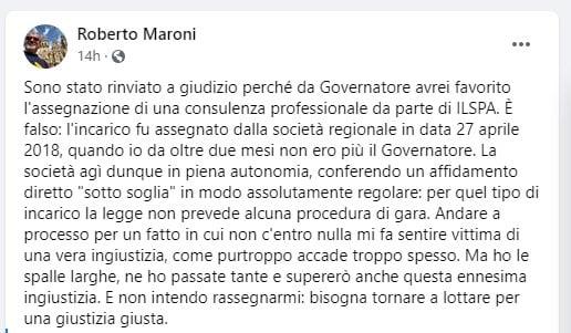 roberto maroni Politica - Roberto Maroni. Si apre con la guerra per la Giustizia, invece che per la campagna elettorale di Milano e di Varese 30/09/2020