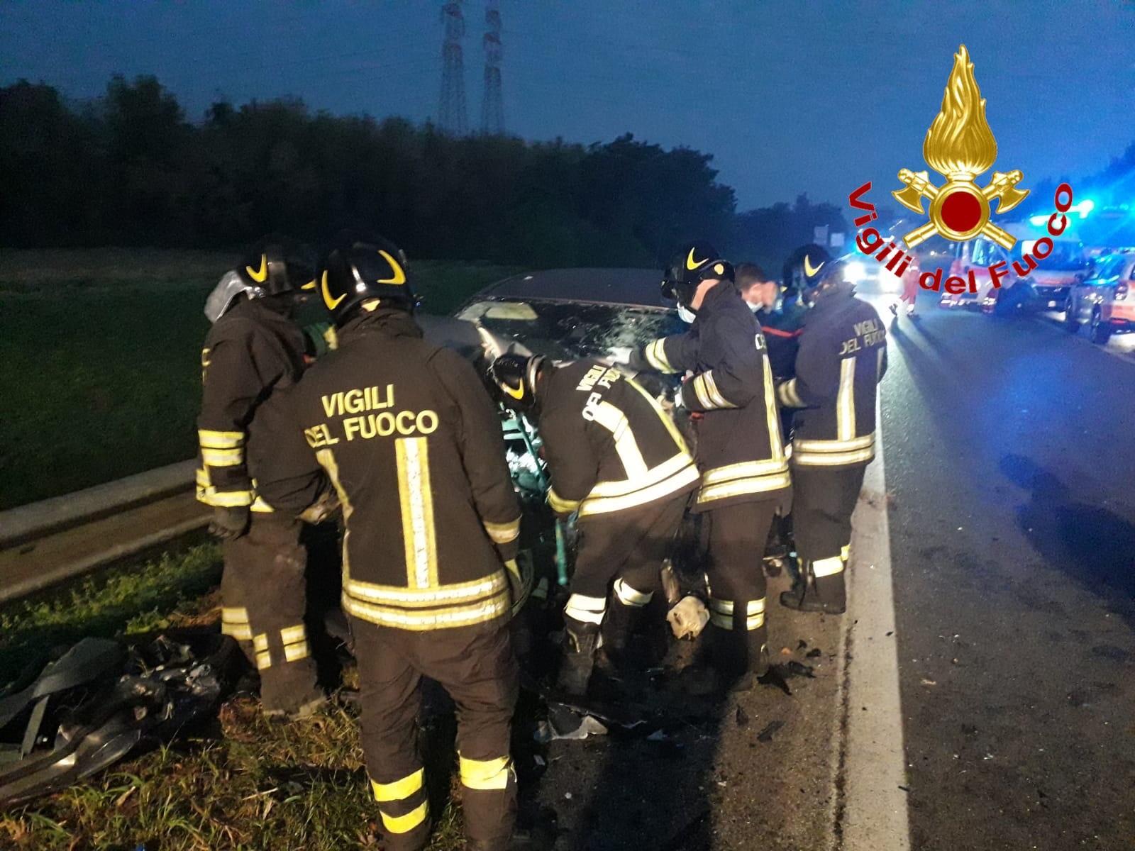 incidente Uncategorized - Incidente stradale a San Giuliano. 2 feriti gravi 10/09/2020