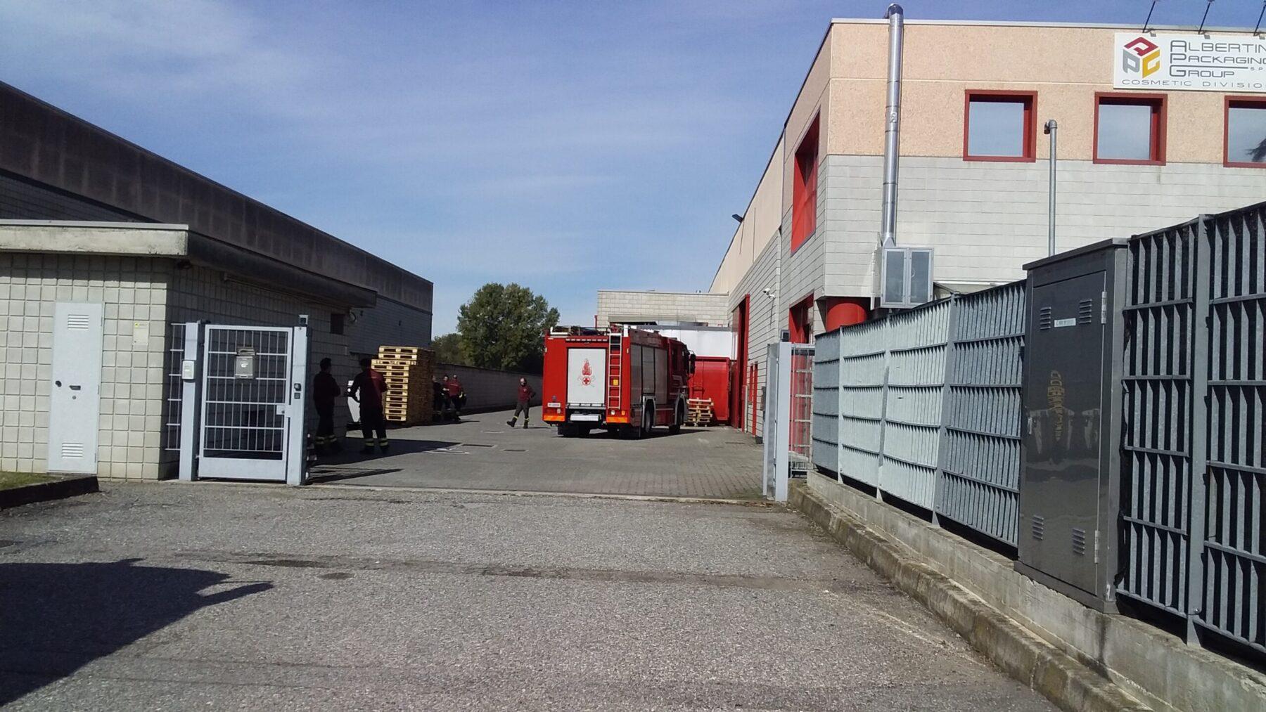 Robecco sul Naviglio - Infortunio lavorativo all'azienda di via Passavone. Robecco 07/10/2020
