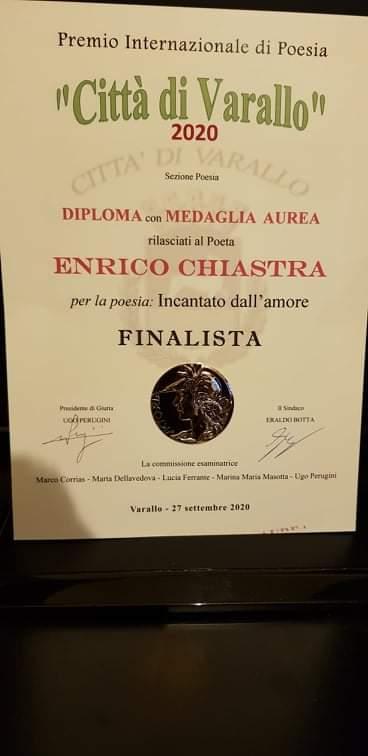 Uncategorized - L'angolo della poesia di Giovanni Elidio Chiastra 14/10/2020