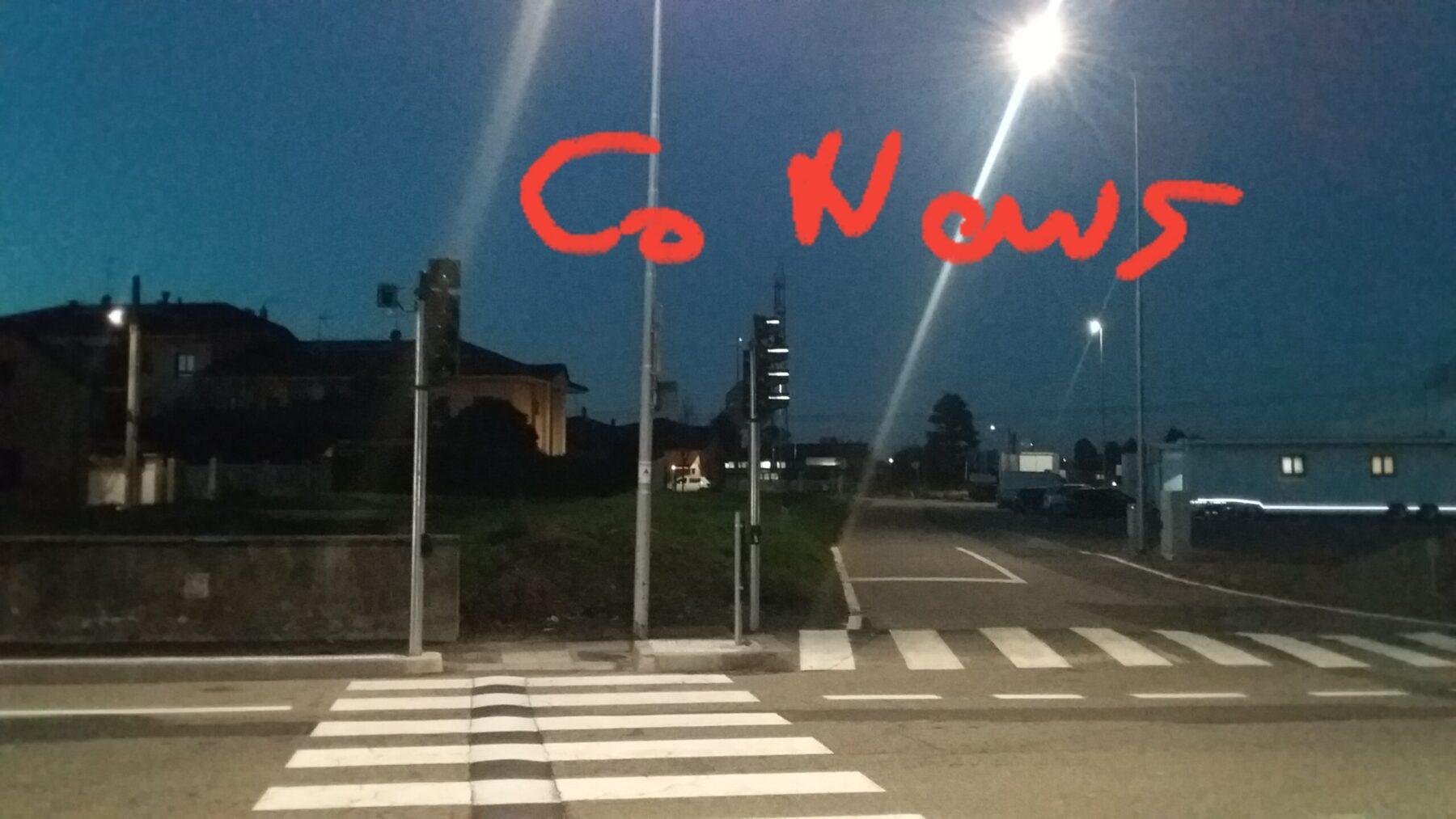 Corbetta - Semaforo per ipovedenti a Corbetta, località cascina Beretta. 20/11/2020