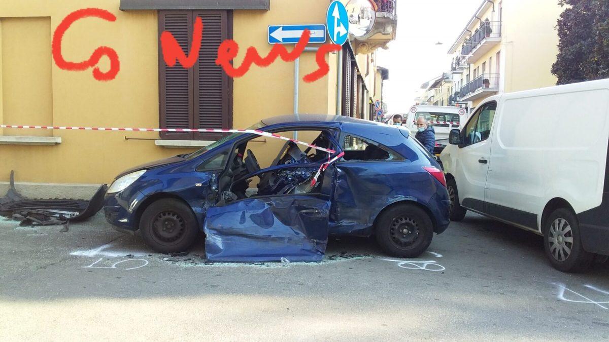 Corbetta - Ancora un incidente in via Piave. Corbetta 26/11/2020