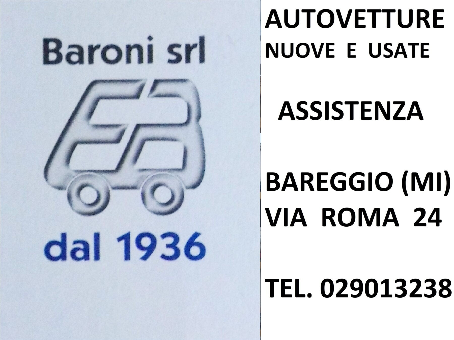 Bareggio - Baroni S.r.l di Bareggio: storia, futuro, territorio e assistenza 05/11/2020