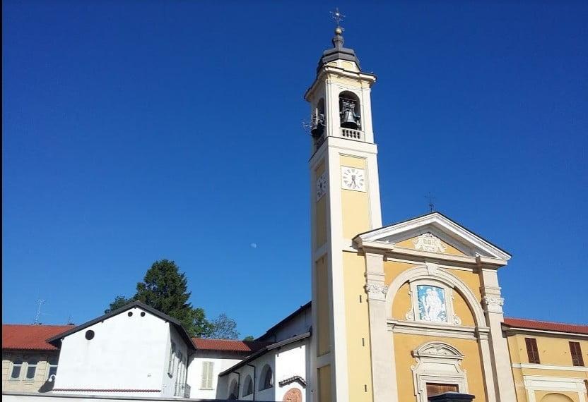 la benedizione di Natale quest'anno arriverà dal campanile di San Cristoforo.