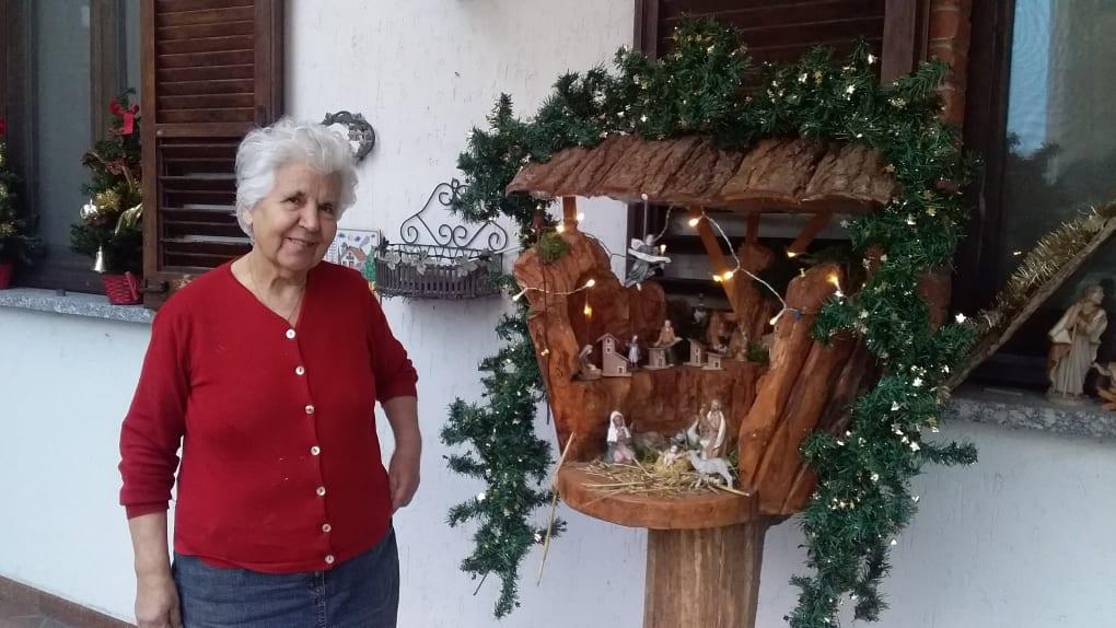 Cisliano - Il giardino presepe automatizzato di Salvatore Giovinazzo. Bestazzo di Cisliano 13/12/2020