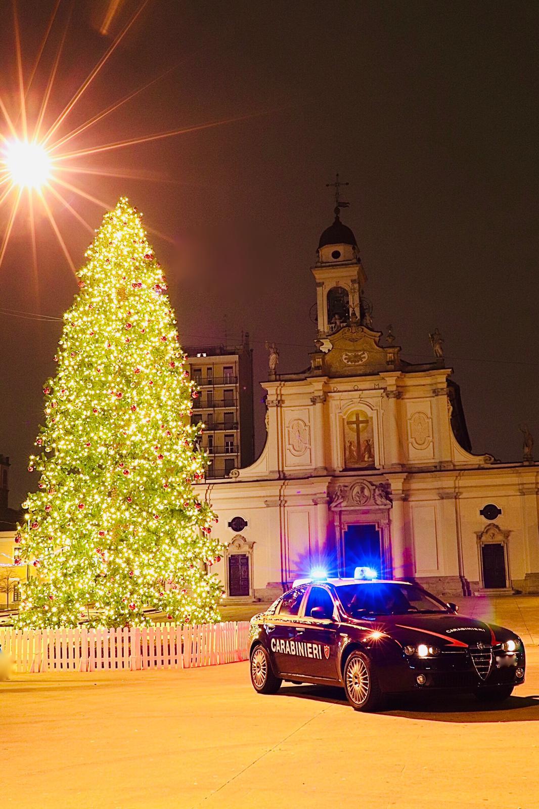 Cinisello Balsamo Buon Natale dai carabinieri di sesto san Giovanni