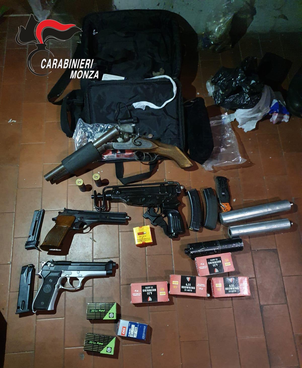 armi, santabarbara, sequestrate