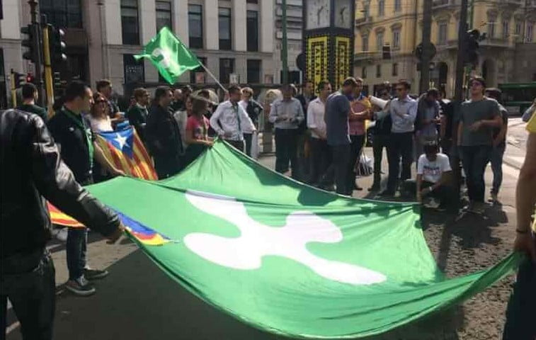 bandiera lombarda Milano