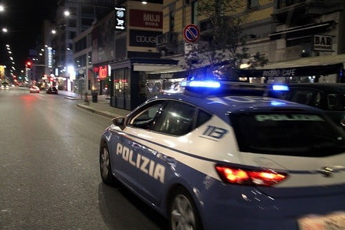 controlli della polizia in corso Buenos Aires per #ioapro