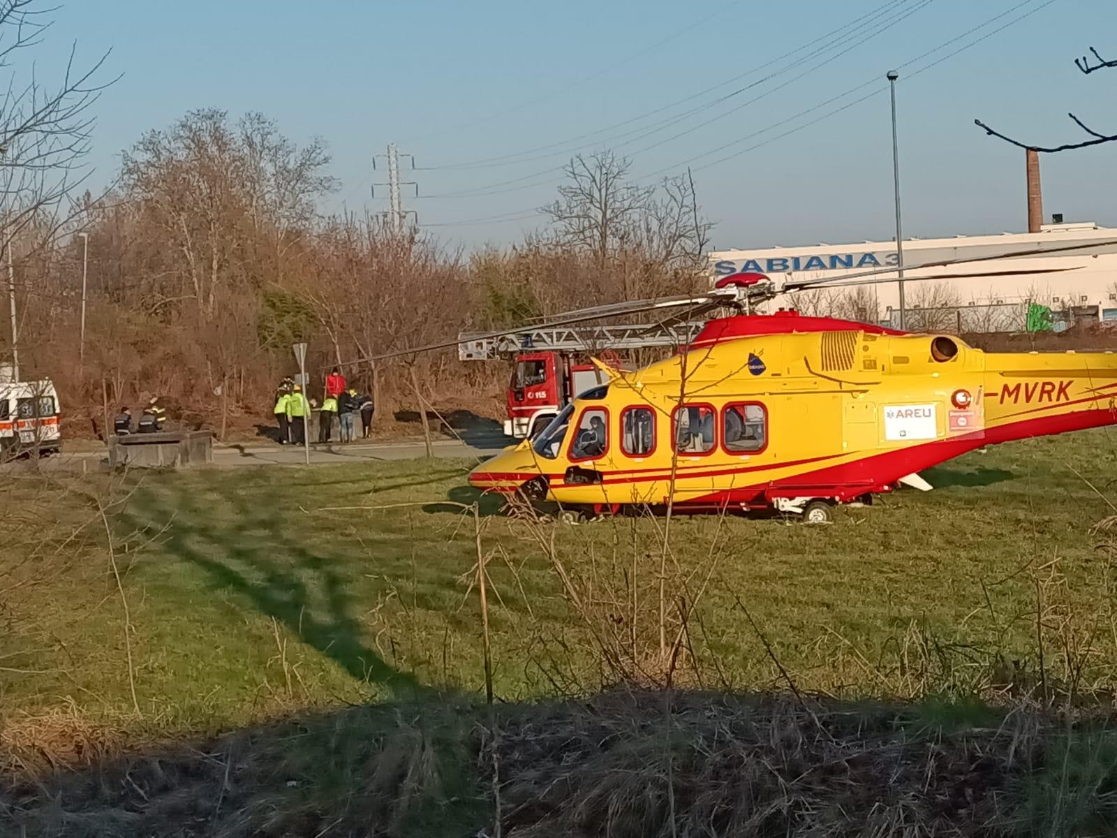 Corbetta - Gravissimo incidente in via Nievo. Corbetta 27/02/2021