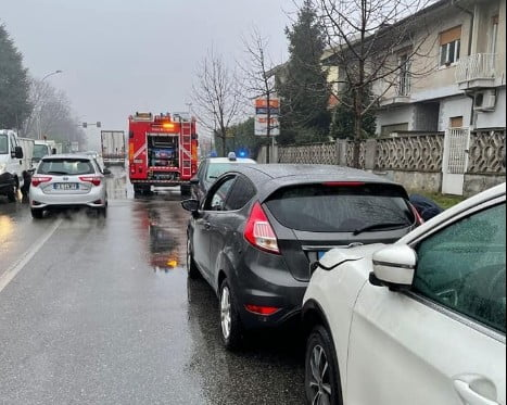 tamponamento Uncategorized - Tamponamento in viale Europa. 3 feriti a Busto Garolfo 03/02/2021