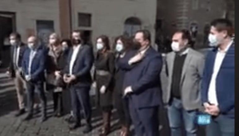governo. Matteo Salvini e i sottosegretari della lega