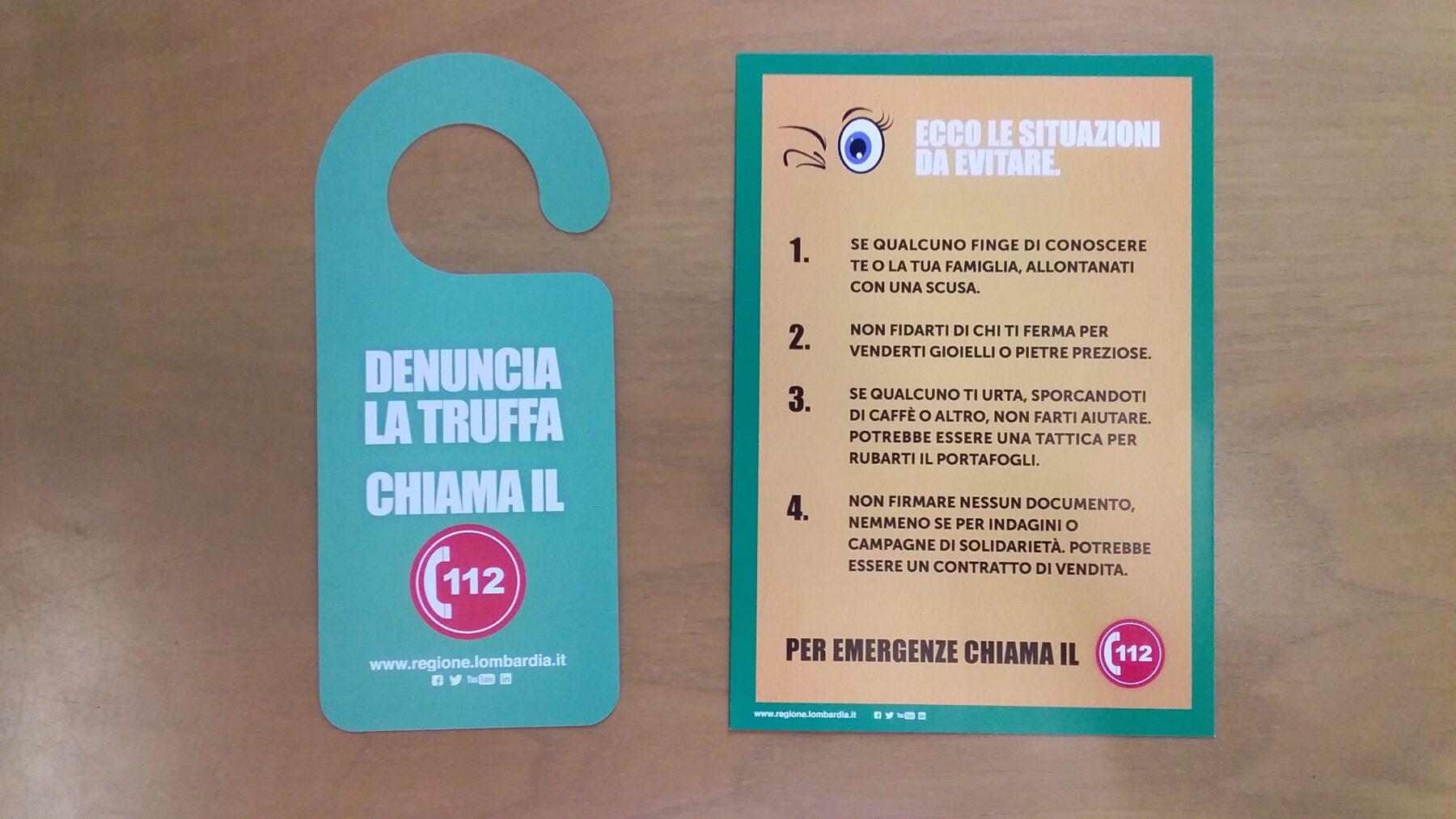Corbetta - Truffe di finti tecnici sventate a Corbetta. Il progetto con Regione Lombardia 11/03/2021