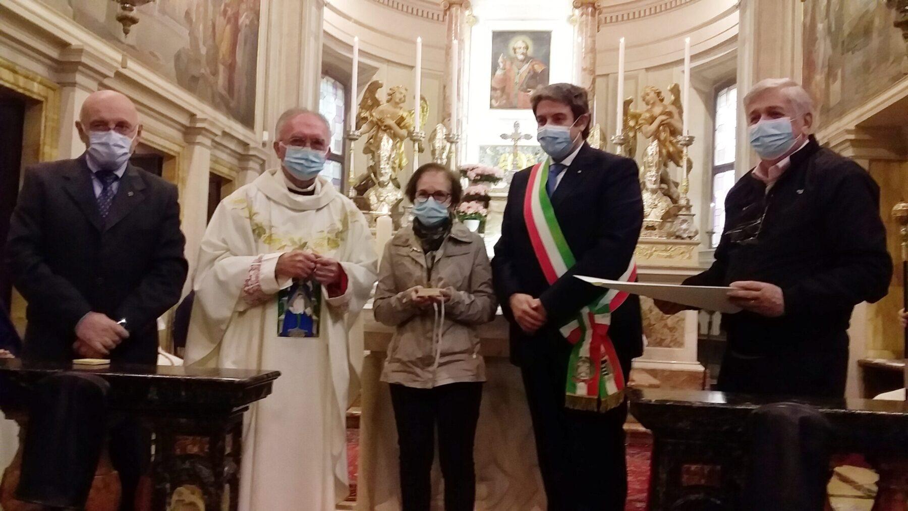 Corbetta - Il premio suor Michelina 2021 va ai volontari della Parrocchia San Vittore. Corbetta 11/04/2021