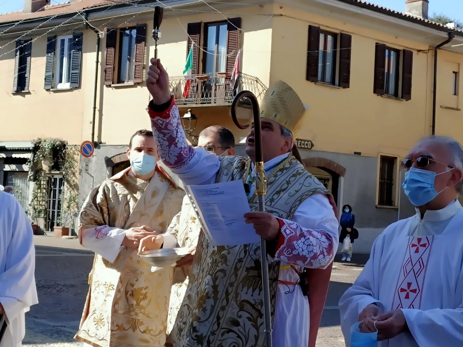 Corbetta - Festa del Perdono in sicurezza. Corbetta 09/04/2021