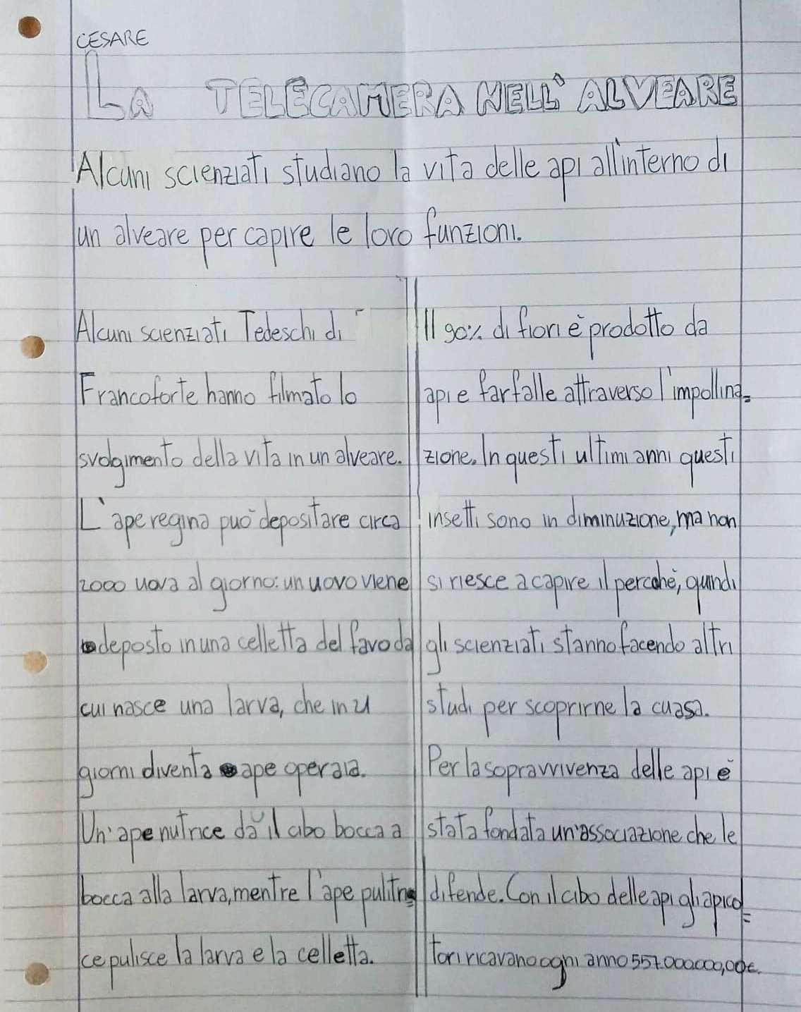 Corbetta - Co Notizie alla primaria Aldo Moro per spiegare il giornalismo. Corbetta 21/04/2021
