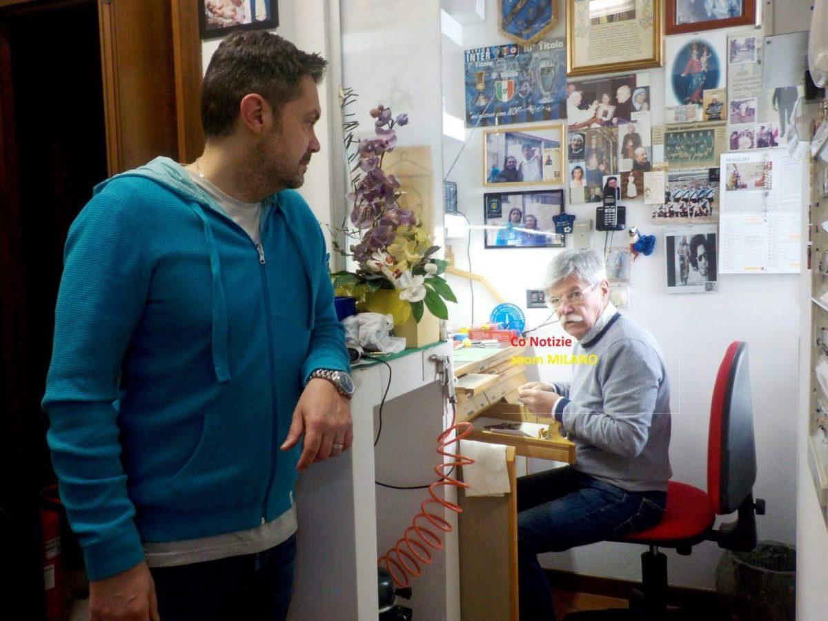"""Corbetta - La gioielleria """"Piroli e Scuri"""" compie 45 anni. Corbetta 26/05/2021"""