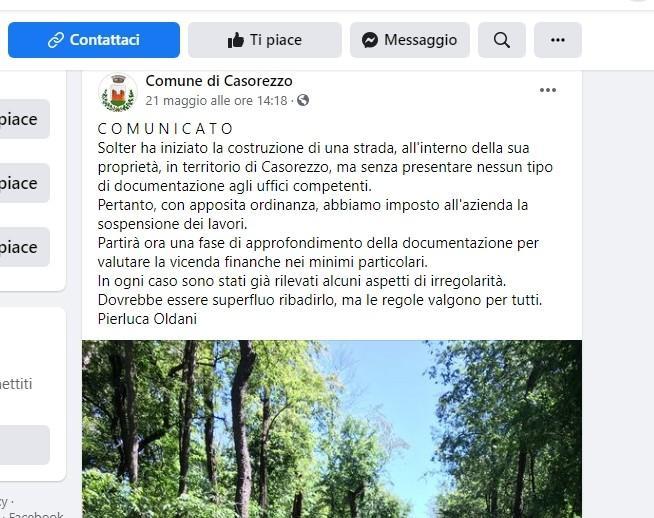 bosco Casorezzo - Casorezzo. Fanno una strada e sbagliano bosco... 20/08/2021