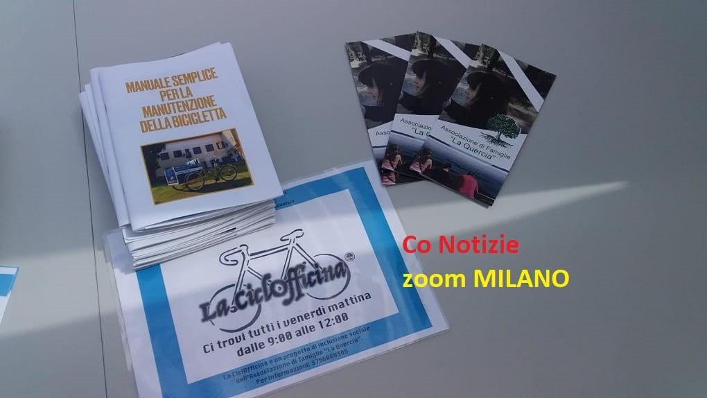 """ciclofficina Corbetta - La ciclofficina a Corbetta. Grazie a """"La Quercia"""" onlus 14/05/2021"""