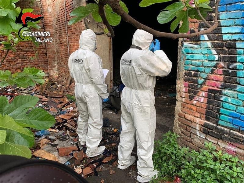 Cadavere Rogoredo - Cadavere trovato nella cascina di via Orwell 01/05/2021