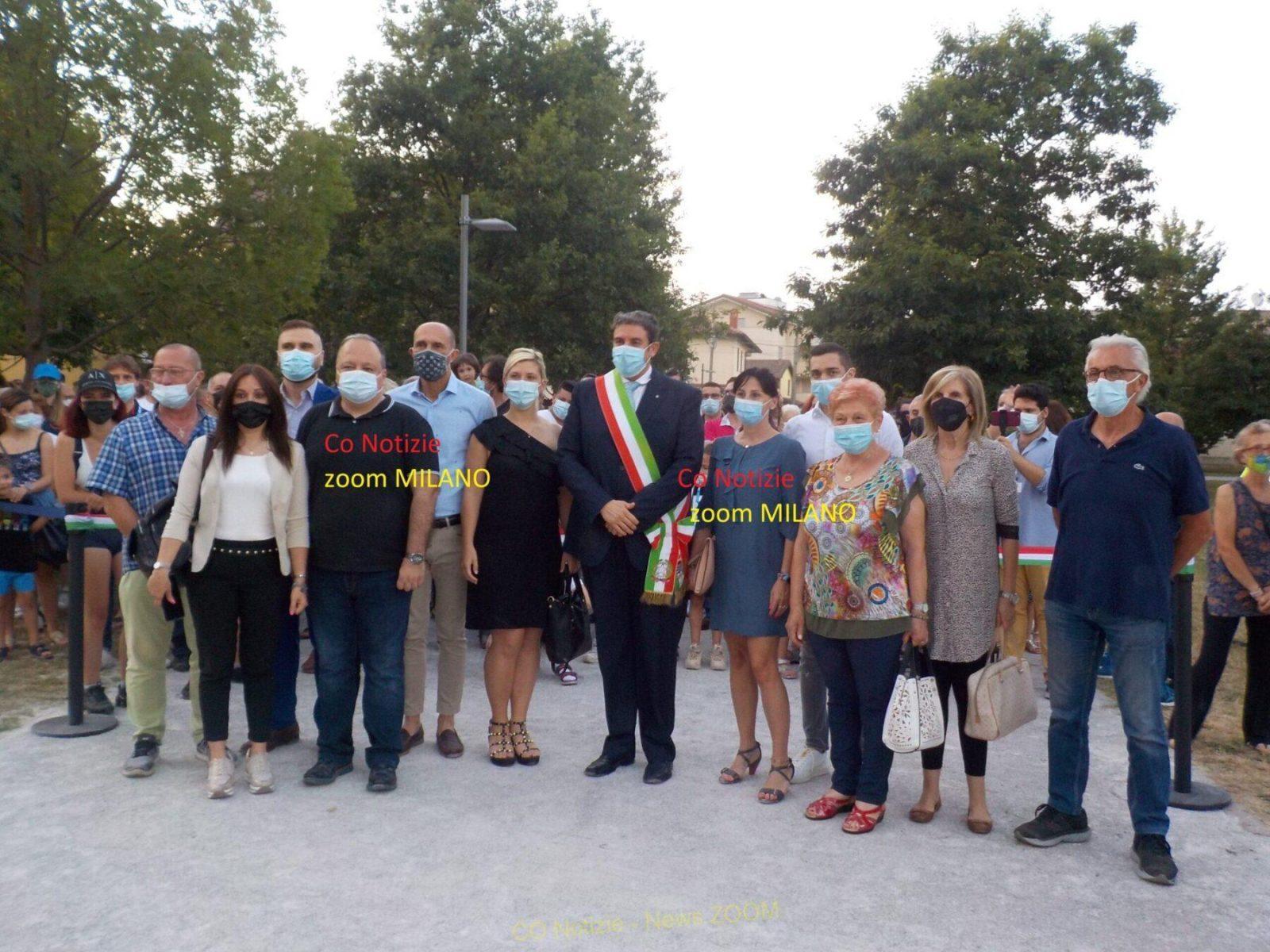 Corbetta - Un parco, quello di Villa Ferrario, da 1 milione di euro. Corbetta 26/06/2021
