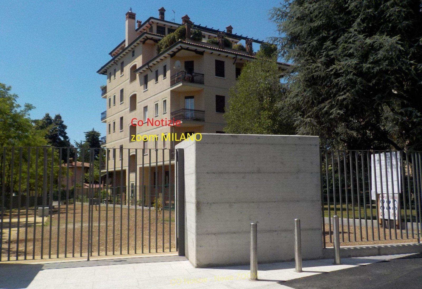 Corbetta - E' prossima all'apertura l'area verde di piazza 1°Maggio. Corbetta 26/06/2021