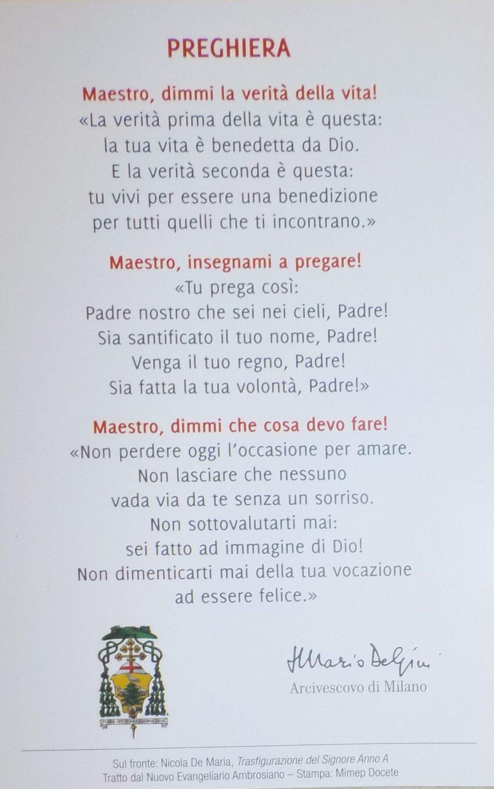 monsignor delpini Corbetta - L'Arcivescovo di Milano, Monsignor Delpini a Corbetta dai Somaschi 04/06/2021