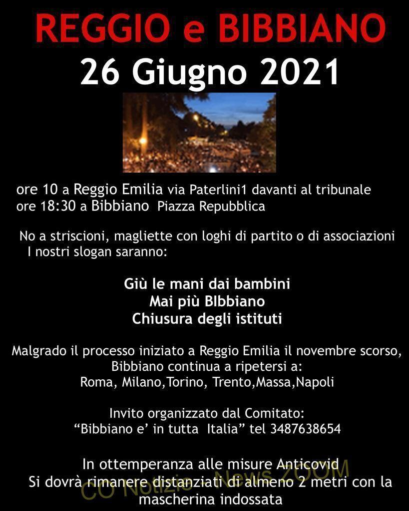 Bibbiano Milano - 26 giugno 2021. A Bibbiano e a Reggio Emilia con le associazioni 23/06/2021