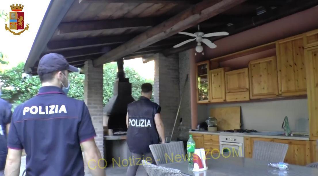 sequestro Vittuone - Maxi sequestro per mafia a Vittuone (Video) 08/07/2021