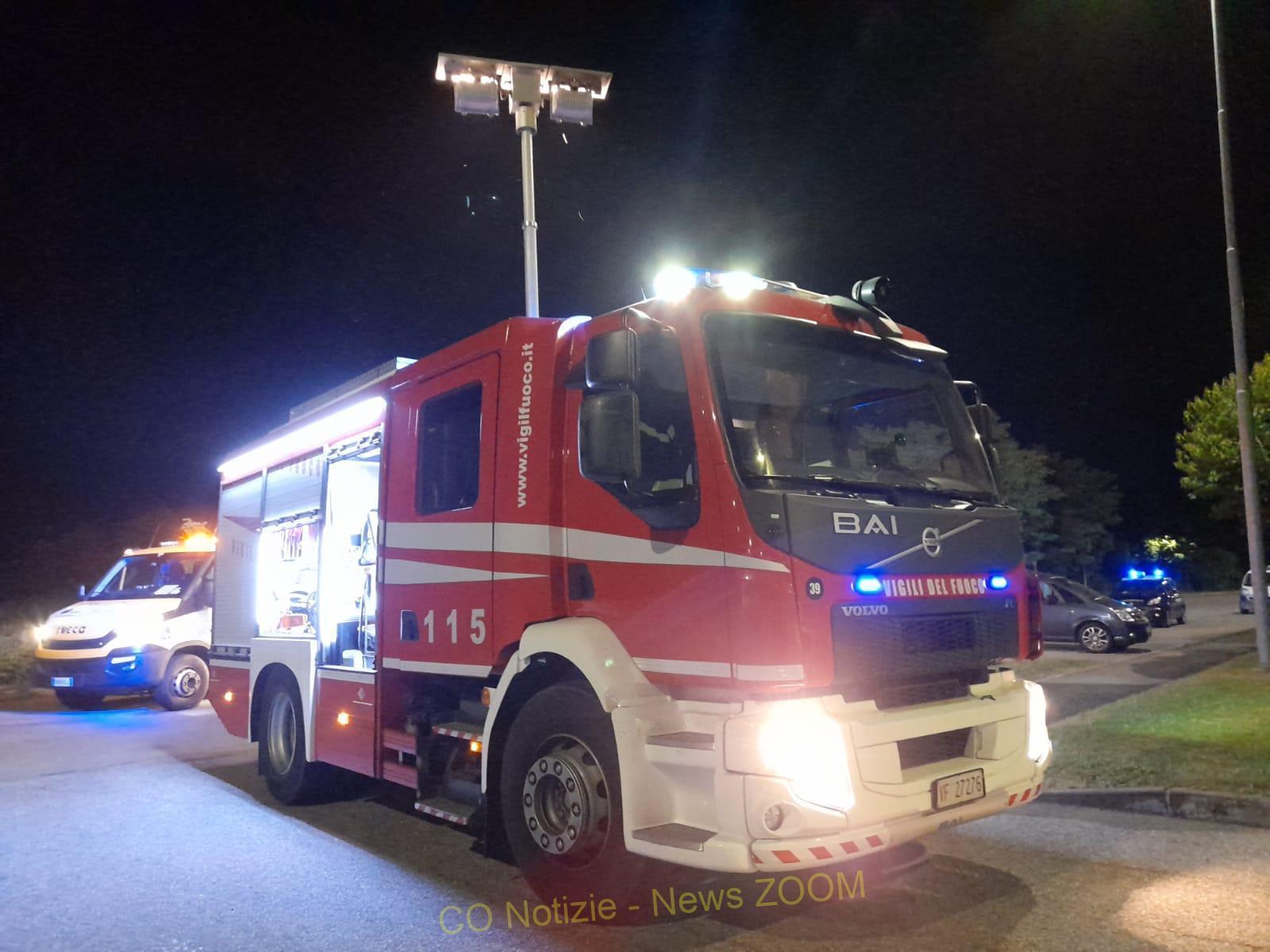 incidente Turbigo - Incidente a Turbigo. 64enne fuori strada 04/07/2021
