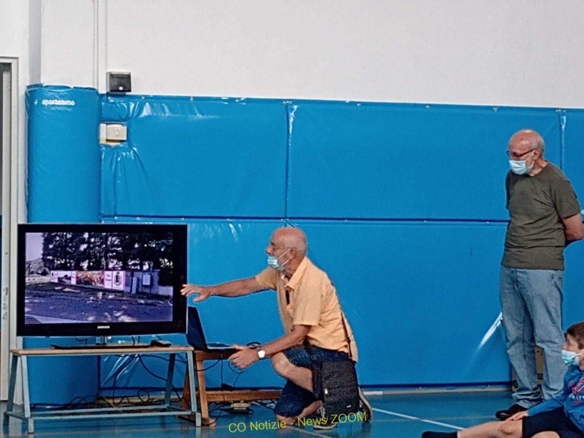 gamba de legn Ossona - Lunedì parte il gamba de legn, murale, del pittore Vincenzo Gornati 01/08/2021